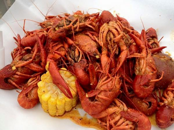 Crawfish boil - Blu