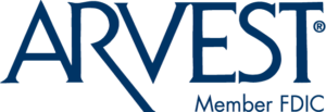 Arvest Blue Logo with Member FDIC (PNG)