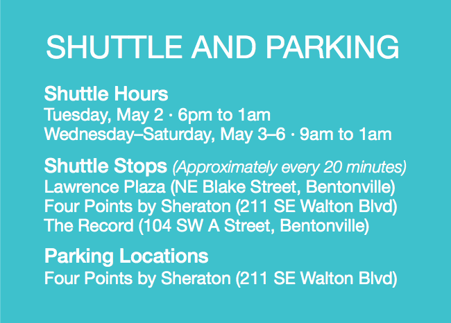 Shuttle and Parking Info